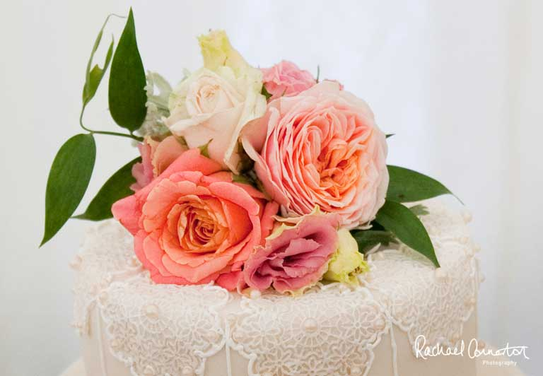 Sophie's Flower Shop - flower cake topper