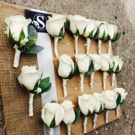 flowers wedding avalanche white rose rustic vintage british sophies flower co