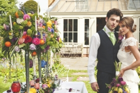 Langar Hall Photo shoot with Sophies Flower Company