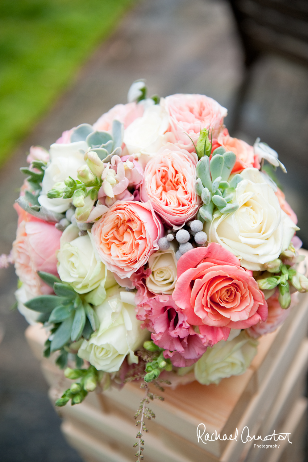 Wedding bouquet by Sophie's Flower Shop