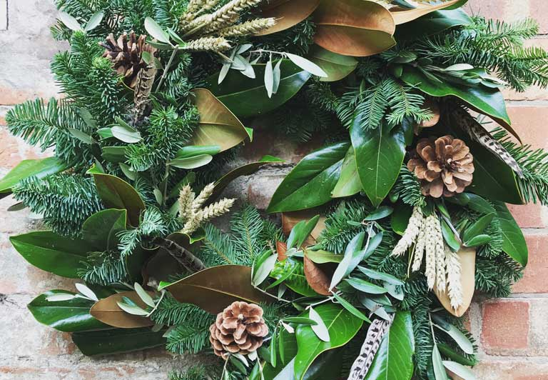 luxury wreath making
